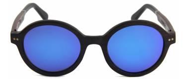 c2d35ba26b Gafas de Sol de Madera Melville Blue Mirror | Mauer