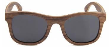 gafas de sol de madera cuney de madera de nogal