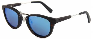 McKinsey Blue wood sunglasses mauer