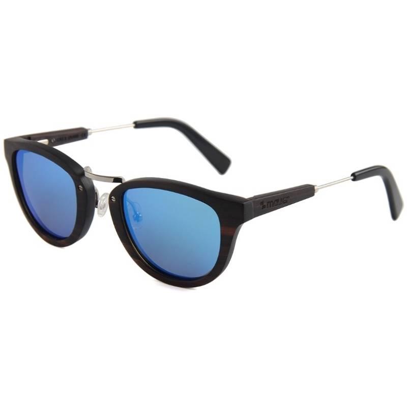 McKinsey Blue wood sunglasses mauer