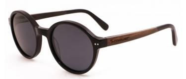 Gafas de sol de madera y acetato Edmon Black de Mauer