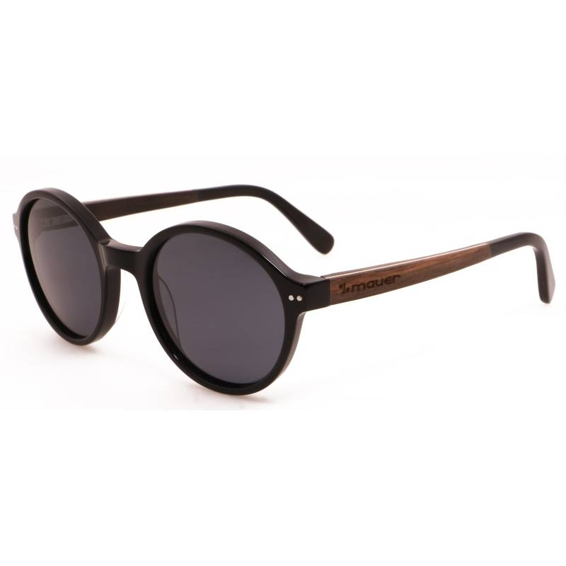 7e23903e089b3 Gafas de sol de madera y acetato Edmon Black de Mauer