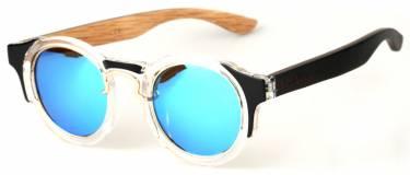 Gafas de Sol en madera modelo Ego Star Mirror de MAUER