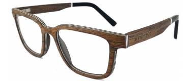 Gafas de madera de Sándalo Americano  Palermo by Mauer