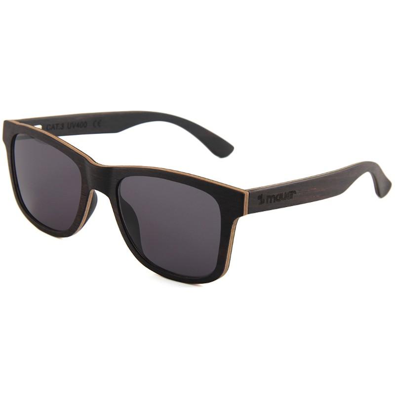 gafas de so de madera hudson ebony de mauer