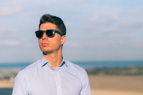 Dickson Beach Wood Sunglasses